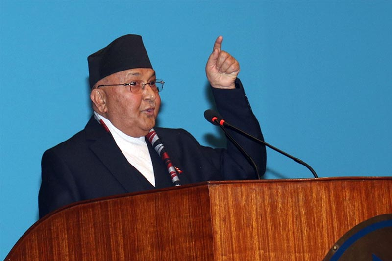 Oli claims his faction's Central Committee is the legitimate one